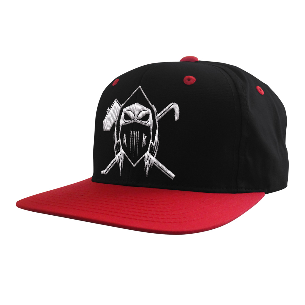Cap Cap One Size Fits All schwarz - rot