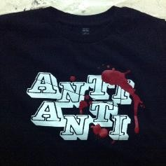 Anti Anti Kids Shirt schwarz