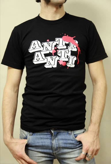Anti Anti T-Shirt schwarz
