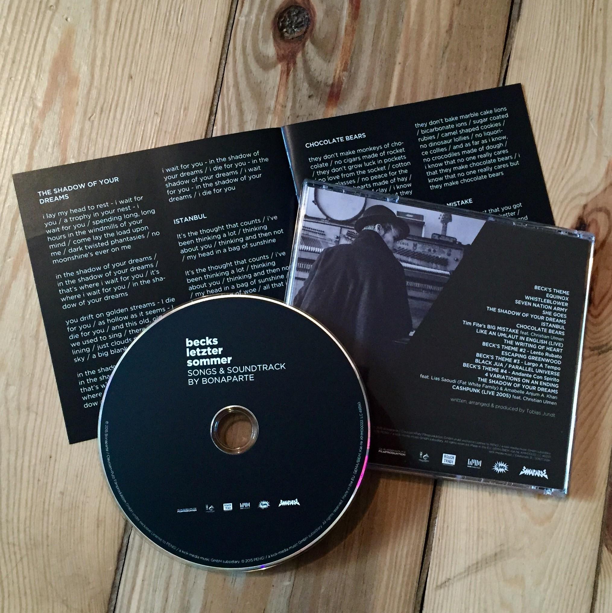Becks letzter Sommer CD