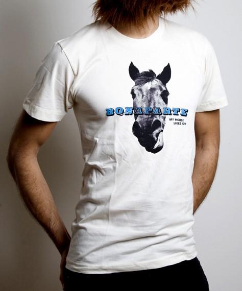 Horse T-Shirt weiß