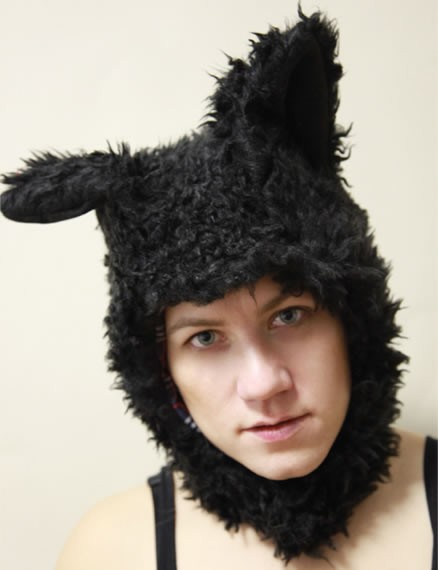 schwarz Mütze