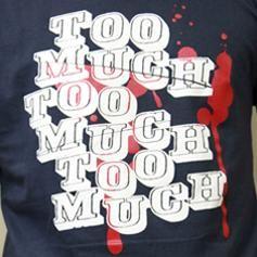 Too Much T-Shirt grau