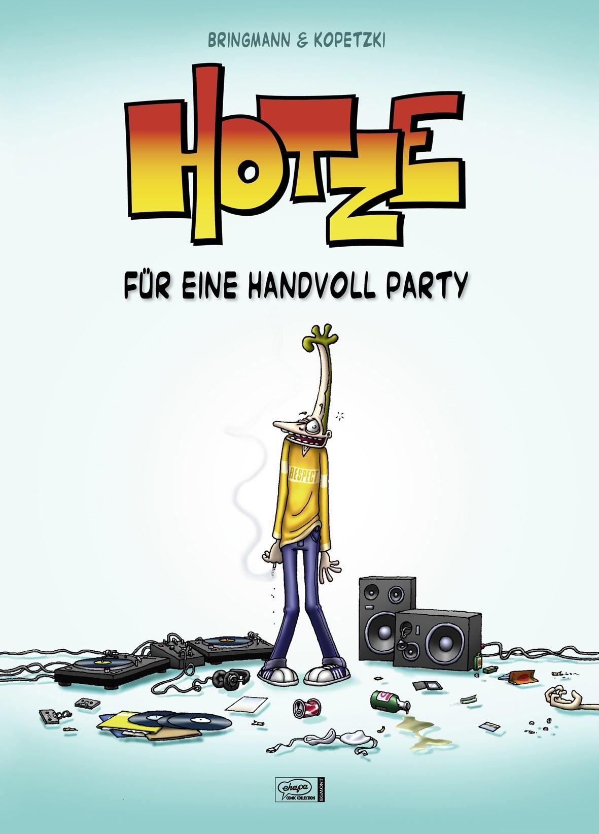 HOTZE 1- FÜR EINE HANDVOLL PARTY Buch