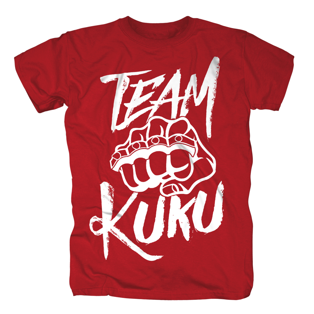 Kuku T-Shirt rot