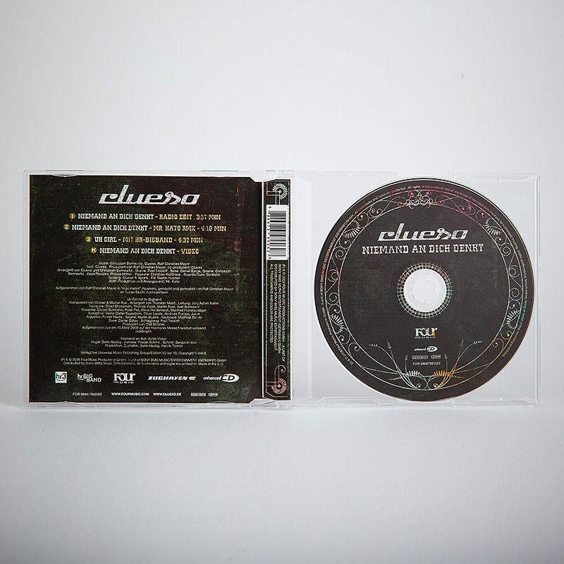 Niemand an dich denkt Single CD