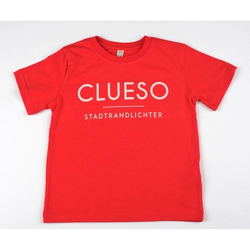 Schriftzug Kids Shirt rot