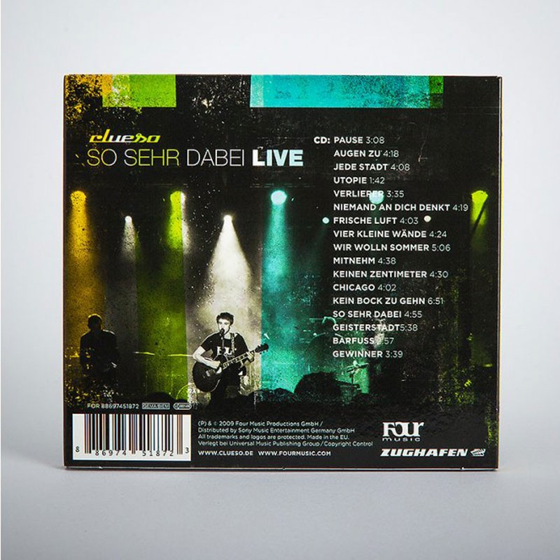 So sehr dabei LIVE CD