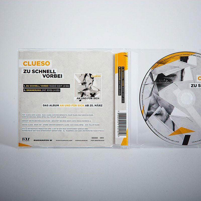 Zu schnell vorbei Single CD