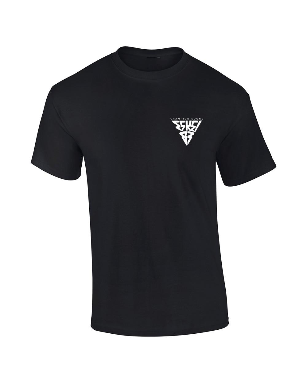 Champion Sound  Long Tee T-Shirt schwarz