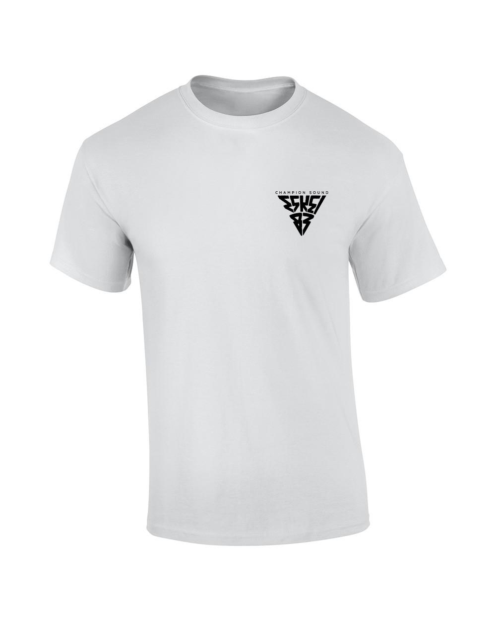Champion Sound  Long Tee T-Shirt weiss