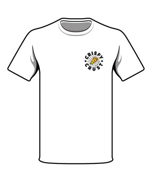 Crispy Crust Records Hot & Fresh T-Shirt