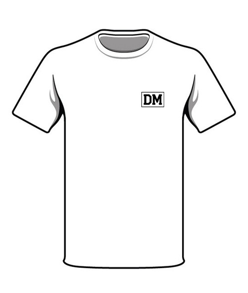 World Backprint T-Shirt weiß