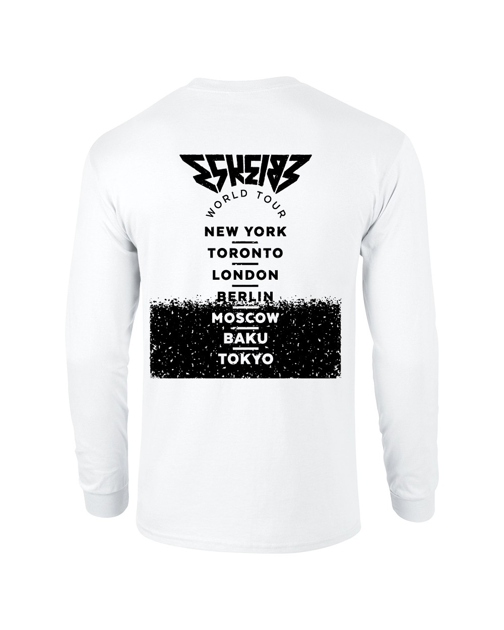 World Tour Longsleeve Longsleeve weiss