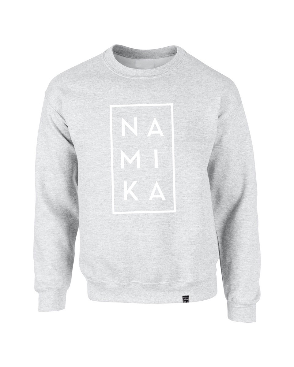 Logo Sweater Grau