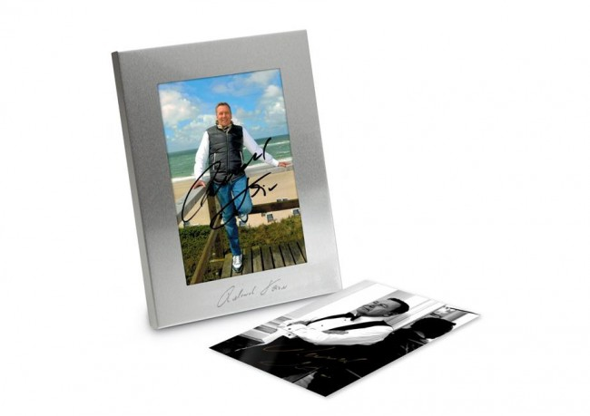 mit exklusiven Bildern, handsigniert Portraitrahmen