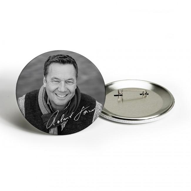 Portrait schwarz-weiß Button