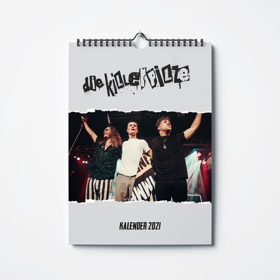 KILLERPILZE KALENDER 2021 / PREORDER Calendar