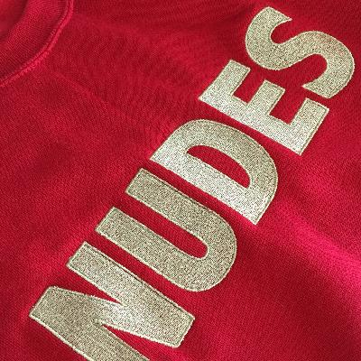 Weiter Weiter Nudes Sweater Red