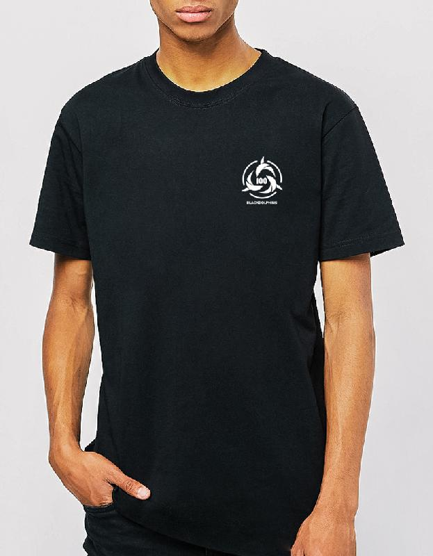 100BD Logo Tee T-Shirt Black