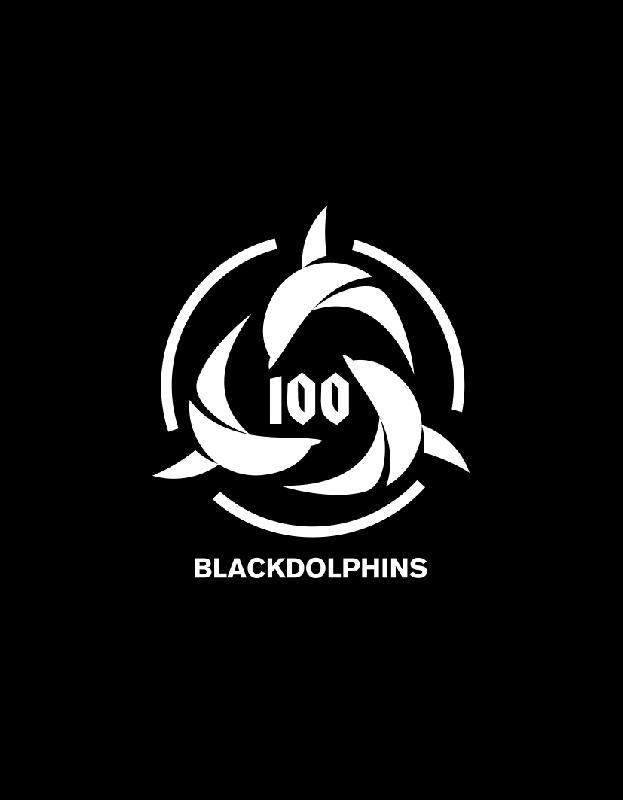 100BD Logo Tee T-Shirt Black