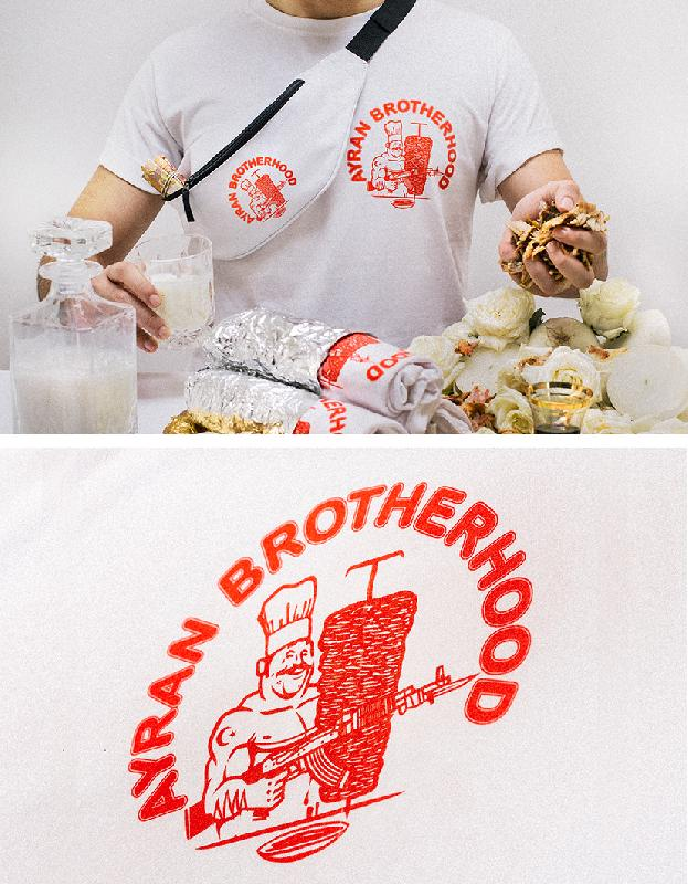 Ayran Brotherhood Tee x Willy T-Shirt White