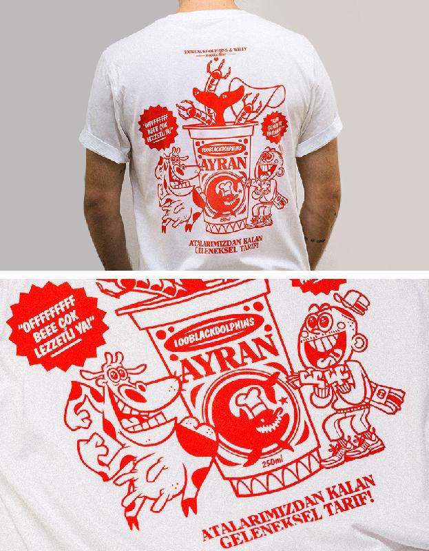 Ayran Brotherhood Tee x Willy T-Shirt White