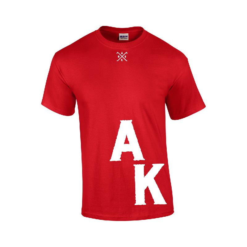 weiter weiter ak t shirt t shirt rot ausser kontrolle akf shop. Black Bedroom Furniture Sets. Home Design Ideas