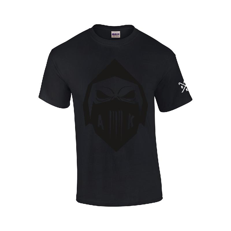 Black Mask T-Shirt T-Shirt Schwarz