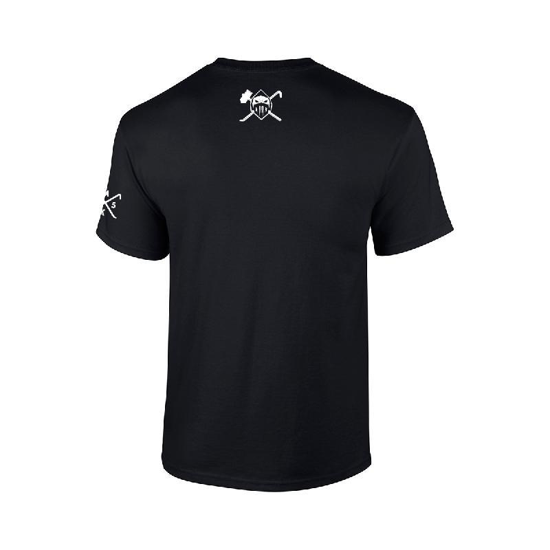 Black Mask T-Shirt T-Shirt Schwarz