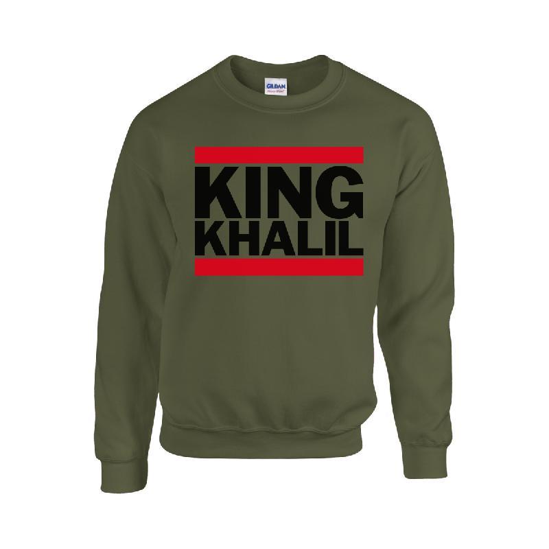 King Khalil Run DMC Sweater Sweater Olive