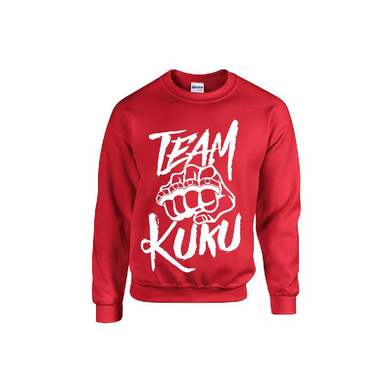 Kuku Sweater Rot Sweater Red