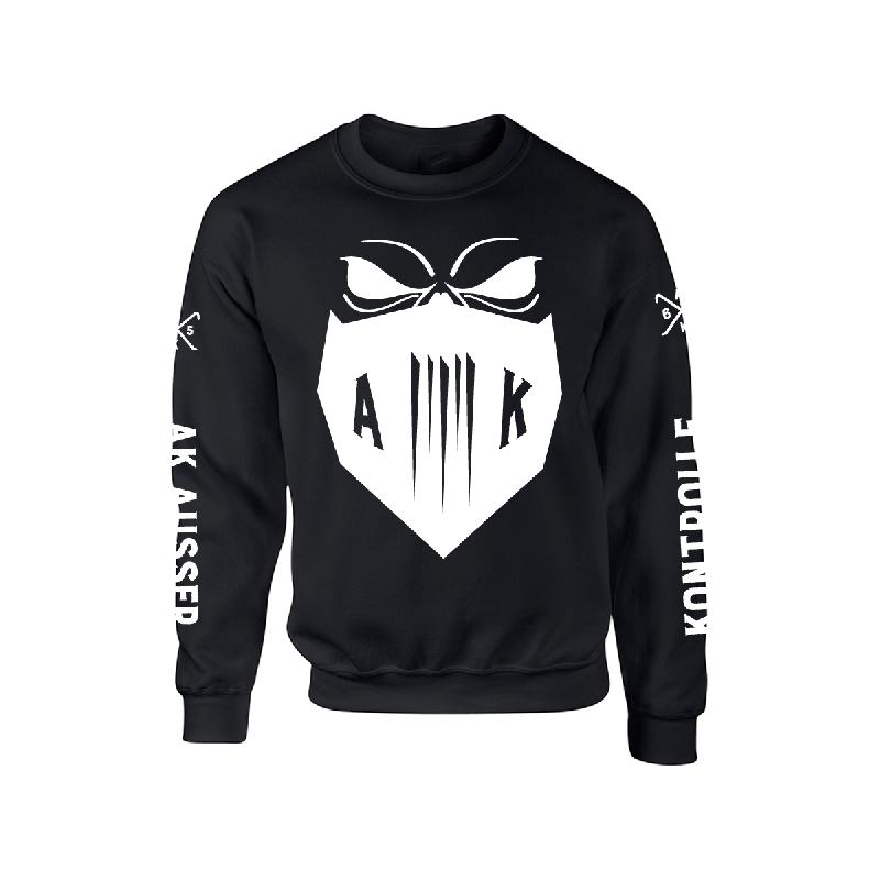 Mask Sweater Sweater Schwarz