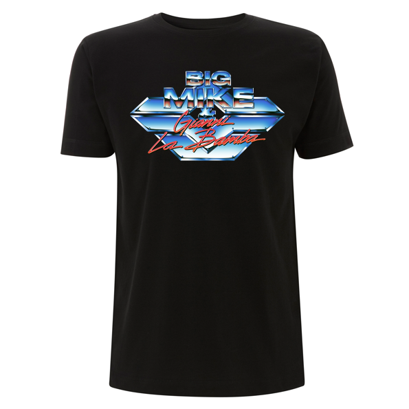 Chrome T-Shirt Schwarz