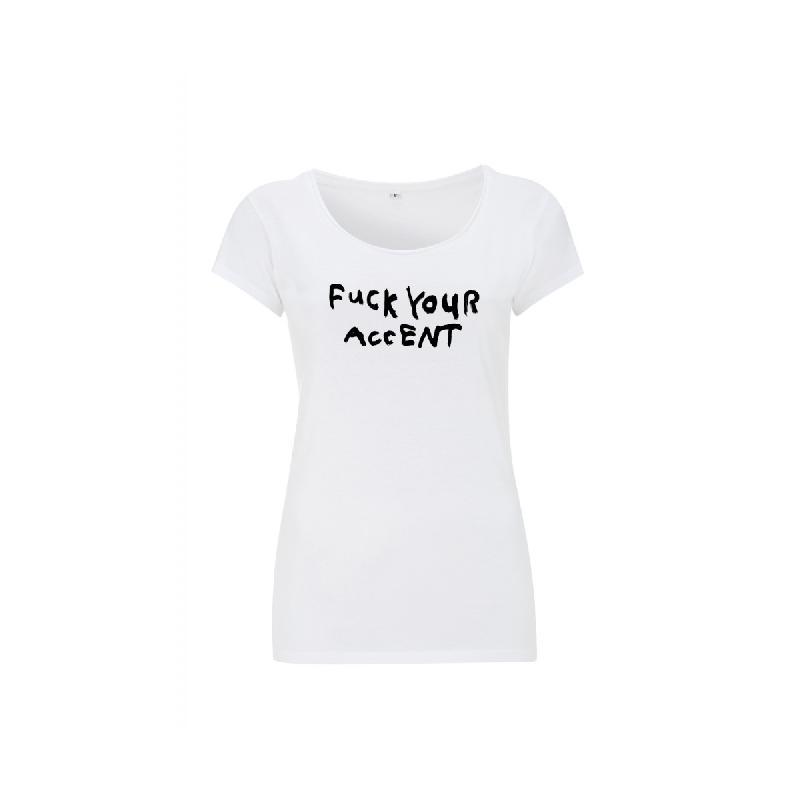 FYA T-Shirt Girlie Weiss