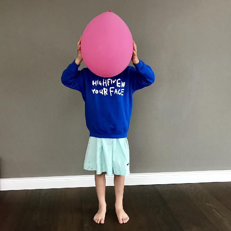 Hi 5 Kids Sweater Blue