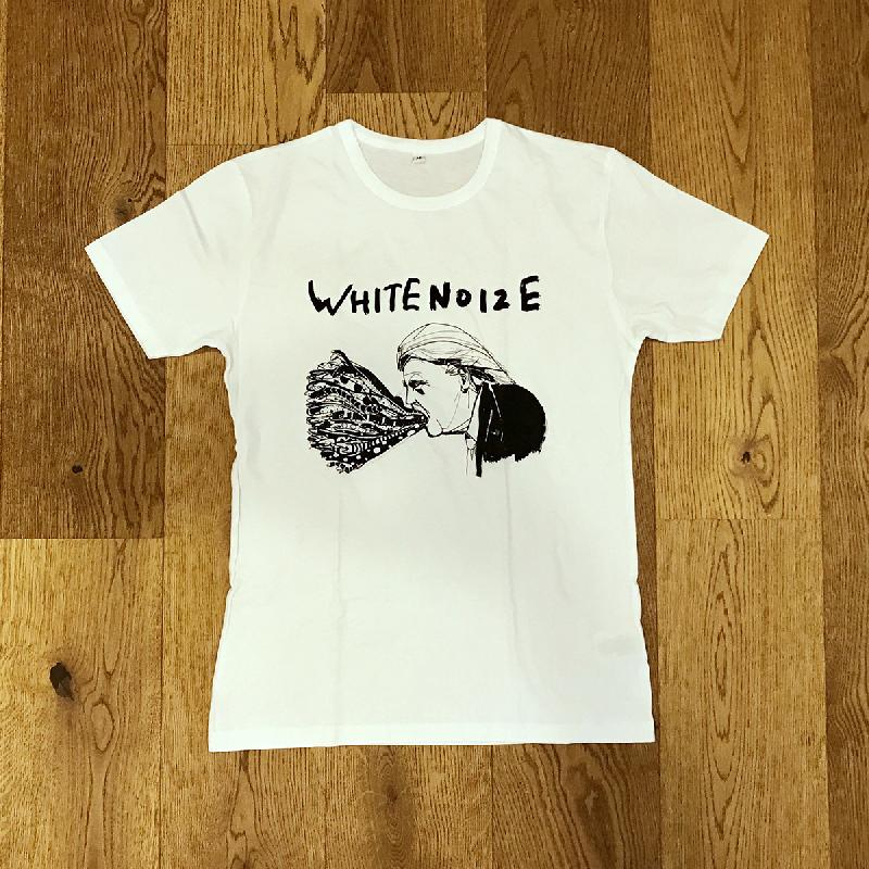 weiter weiter whitenoize t shirt t shirt weiss boys bonaparte shop. Black Bedroom Furniture Sets. Home Design Ideas