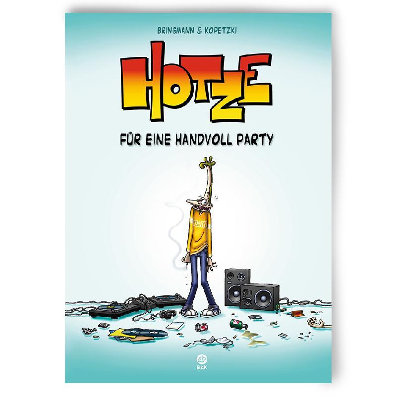 HOTZE 1 - SIGNIERT Buch Restposten Hardcover