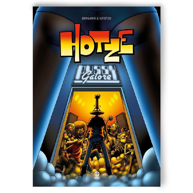 HOTZE 2 - PUSSY GALORE Buch