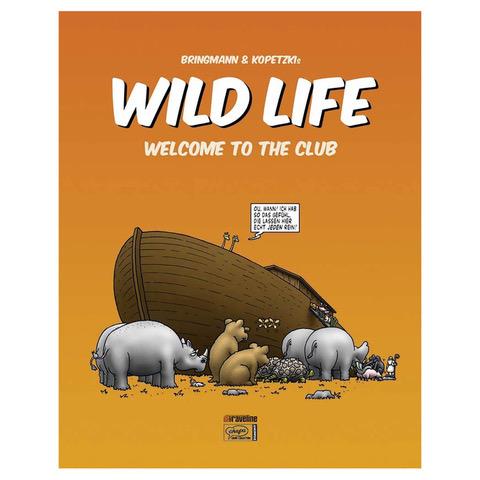 WILD LIFE 1 - SIGNIERT Buch Restposten Hardcover