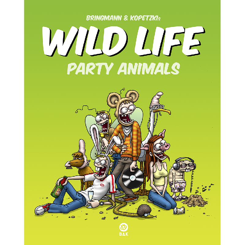 Wild Life - Party Animals Buch