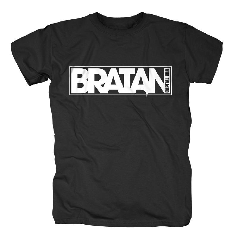 Bratan T-Shirt schwarz