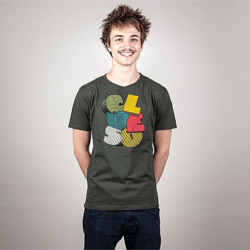 Logo T-Shirt grau