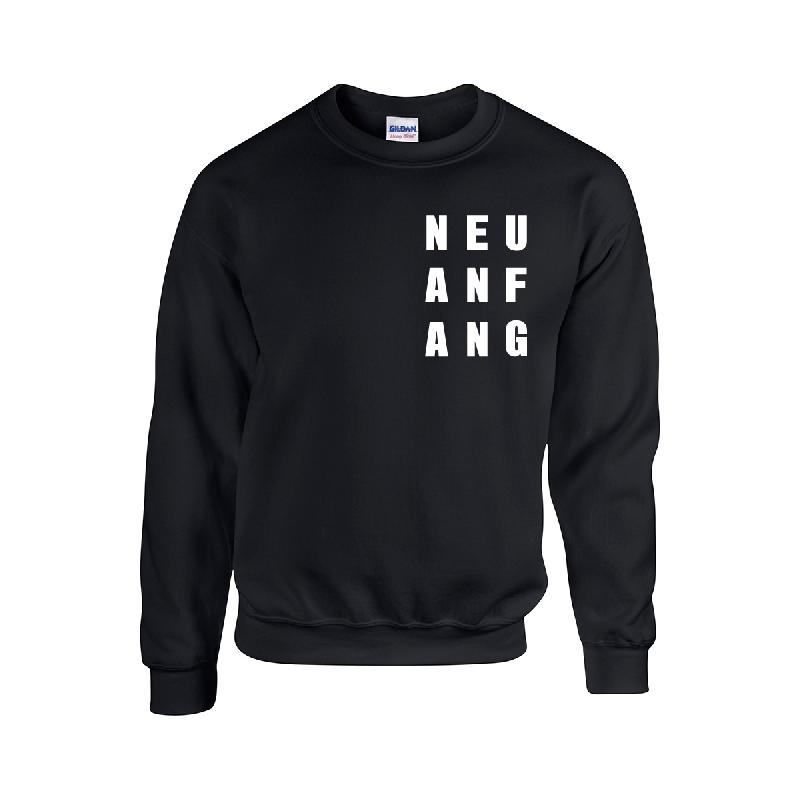 Neuanfang Crew Sweater schwarz