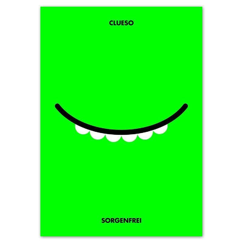 Siebdruck Poster Rocket&Wink - Sorgenfrei Poster
