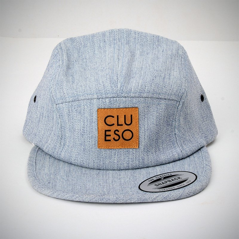 Snapback mit Logopatch Snapback heather indigo