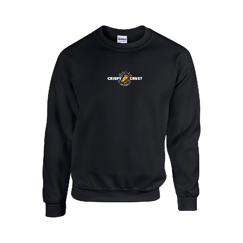 Horizontal Sweatshirt Sweater Schwarz