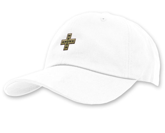 Whom Knows Cap Cap One Size Fits All White