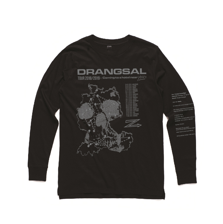 Ltd. Hotel Longsleeve - SOLD OUT Longsleeve Silver/Black