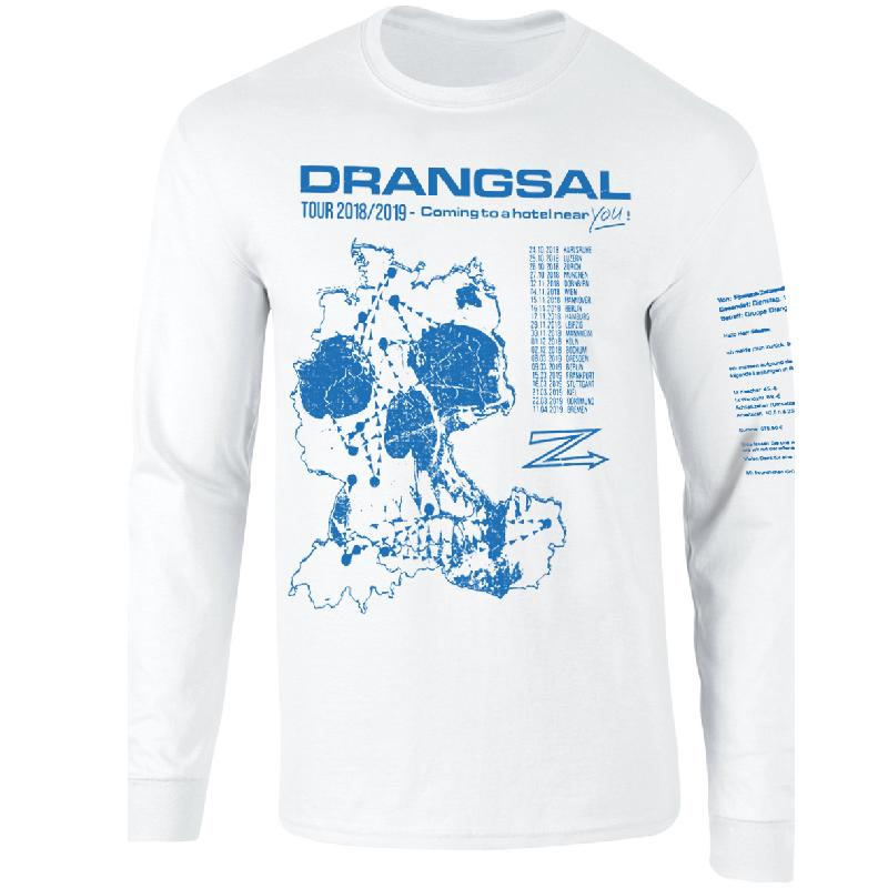 Ltd. Hotel - SOLD OUT Longsleeve Blue/White